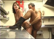 Vivid's Dirty Kitchen Whores, Scene 4