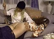Disciplined Down on the Farm - Spanked and Shaved, Scene 4