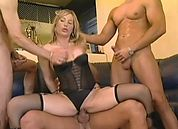 Dirty Girl Gangbang #1, Scene 3